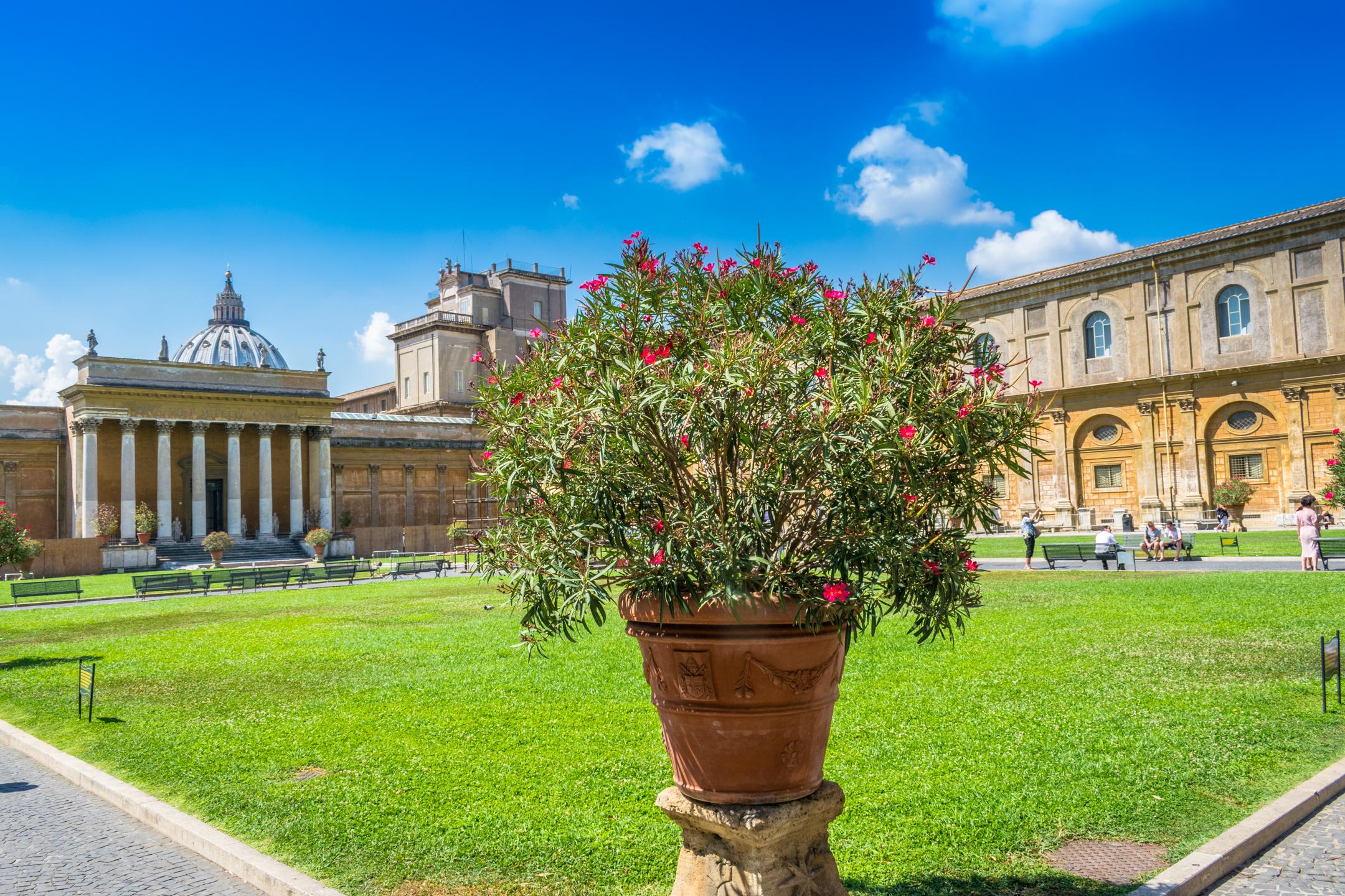 Vatican Museums Gardens